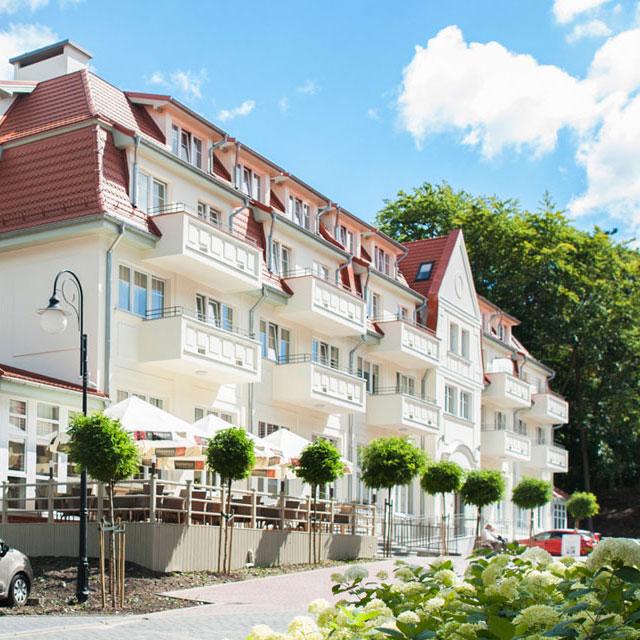 Parkhotel Kaisers Garten ***, Świnoujście